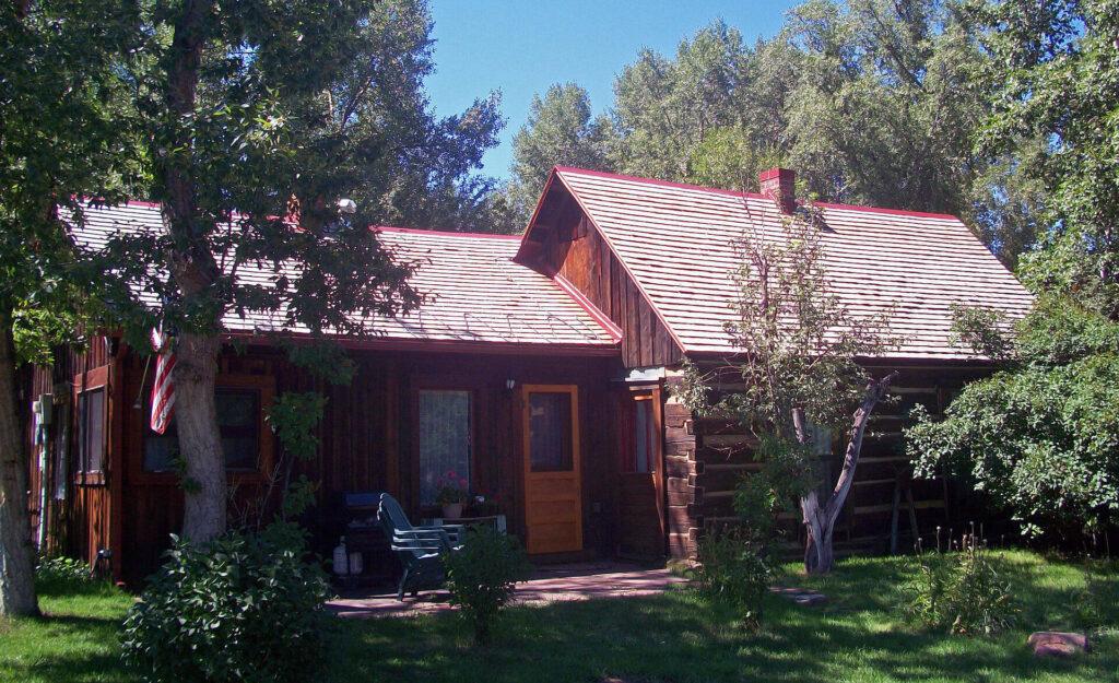 Matthew Callahan Log Cabin